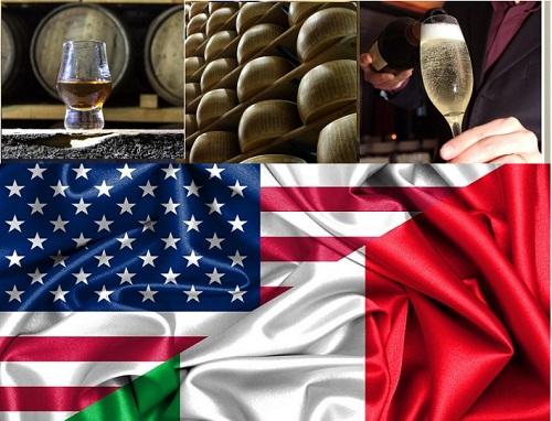 I dazi Usa sui prodotti agroalimentari italiani