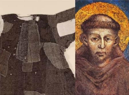 tonaca del Santo di Assisi
