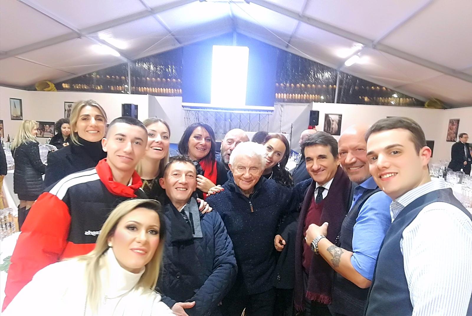 Ospiti del Compleanno di Don Mazzi con la Bloggher Konny Bilotta tra i tanti Uban Cairo