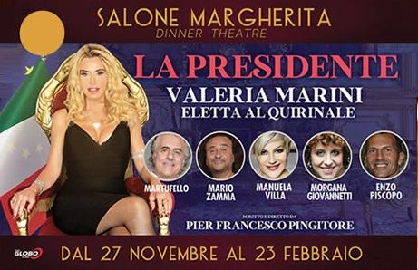 VALERIA MARINI AL BAGAGLINO - LA PRESIDENTE
