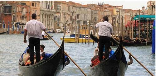 Venezia in gondola 2