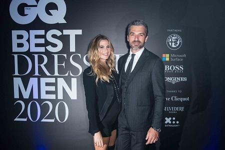 GQ Cristina Marino Luca Argentero