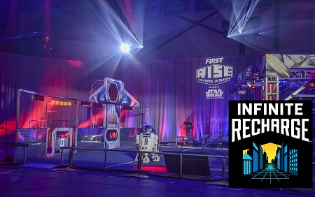 robotics game called INFINITE RECHARGE
