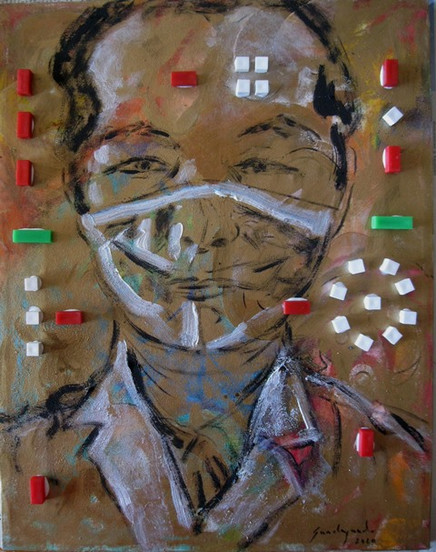 Francesco Guadagnuolo - ritratto del Dottore Li Wenliang