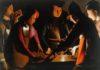 GEORGES DE LA TOUR - I giocatori di dadi - The Preston Hall Museum