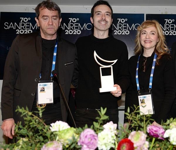 Premio Lunezia Stefano De Martino Diodato Loredana DAnghera-min