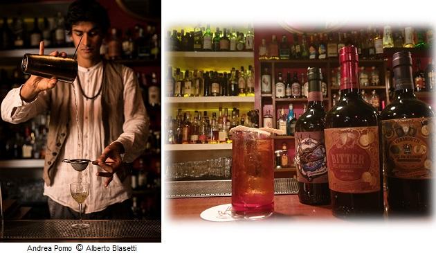 Andrea Pomo bartender del The Jerry Thomas Speakeasy di Roma photo by Alberto Blasetti