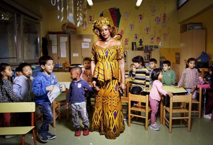 Tutte le ore del mondo A scuola Mareme e gli alunni della classe gialla scuola Marco Polo @FondazioneBracco GeraldBru 1