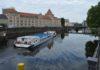 Berlino Fiume Spre Traghetto
