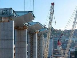 Il nuovo Ponte di Genova prosegue la sua corsa