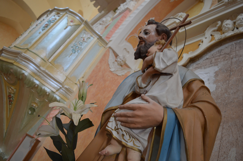 Morciano di Leucastatua di San Giusepe