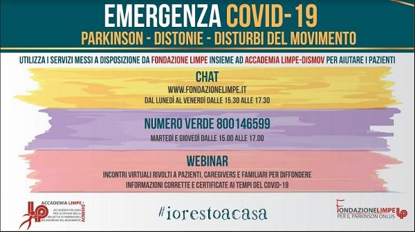 Parkinson - Emergenza Covid-19 2