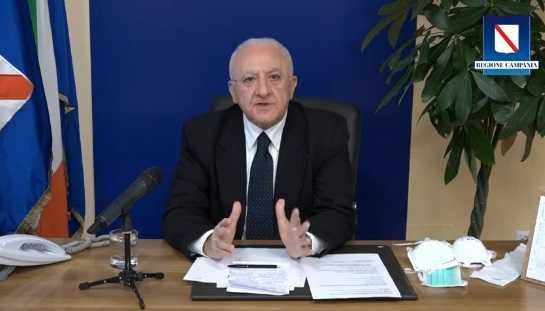 Presidente Campania De Luca