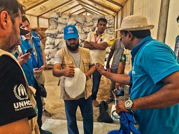 Sceicco Thani Bin Abdullah - donazione allUNHCR