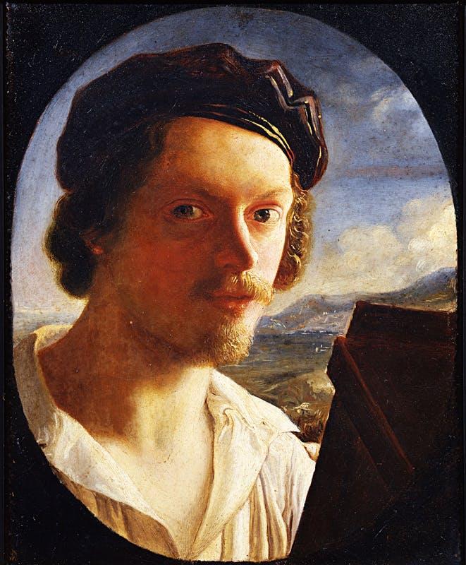 Uffizi - opera di Giuseppe Bezzuoli 1789-1855