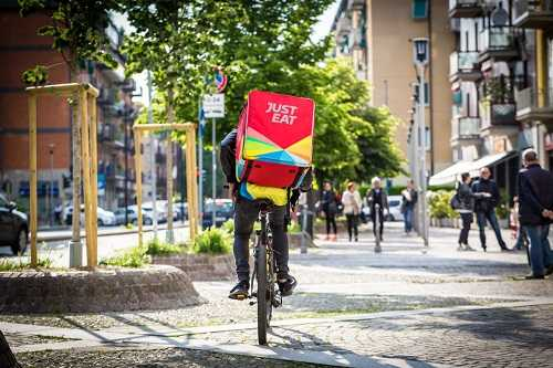 JustEat food delivery