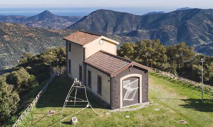 La Stazione dell'Arte di Ulassai - Nuoro - Sardegna