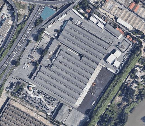 Panoramica riqualificazione complesso immobiliare Roma Magliana