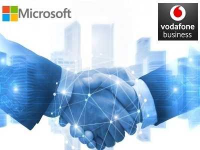 Vodafone Business e Microsoft Italia partnership
