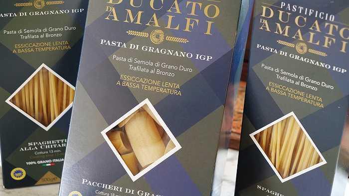confezioni Pastificio Ducato di Amalfi