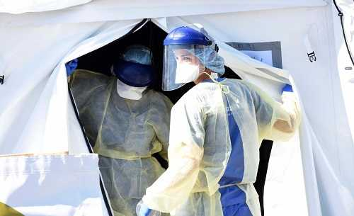 coronavirus medici ospedale foto da Agenzia Dire