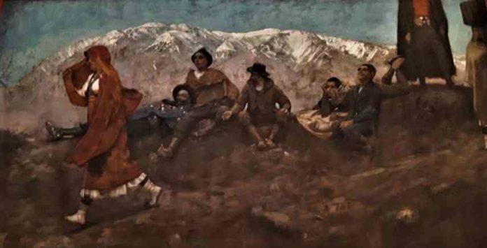 Il dipinto di Francesco Paolo Michetti La Figlia di Iorio