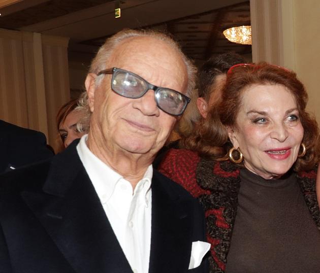 Bob Krieger con Raffaella Curiel (2019)