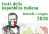 Festa della repubblica Italiana 2 giugno 2020