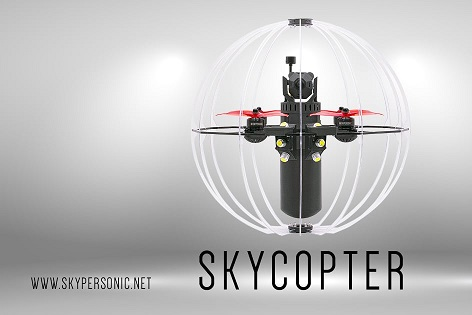 Intro video promo Skycopter full