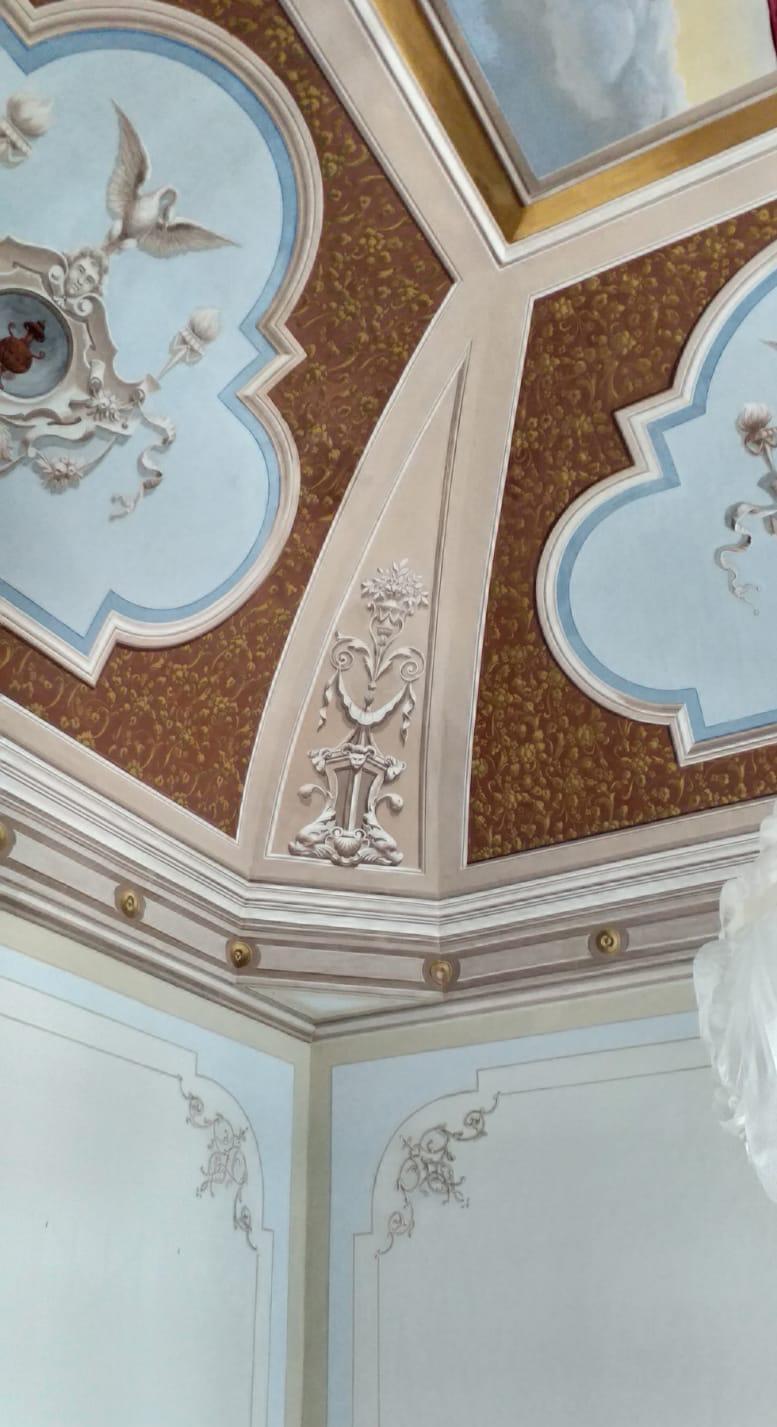 Palazzo Rodio affreschi