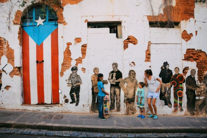 Puerto Rico - Old San Juan low