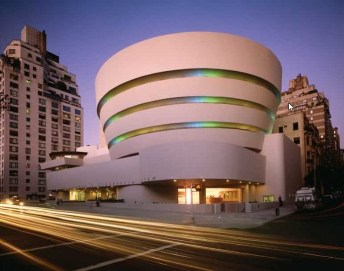 Solomon R Guggenheim Museum photo by David Heald Solomon R. Guggenheim Foundation low