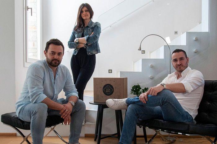TheGinWay Alessio-Maccione-Sabrina-Sinigaglia-e-Cesare-Zavattaro