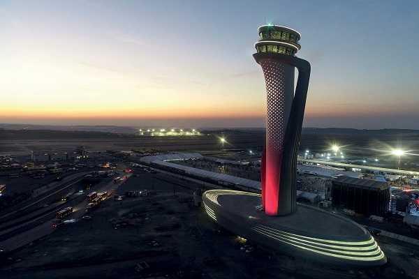 Torre di Controllo del nuovo aeroporto di Istanbul