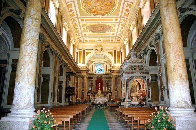12 Interno Della Basilica Di Materdomini Nocera Superiore