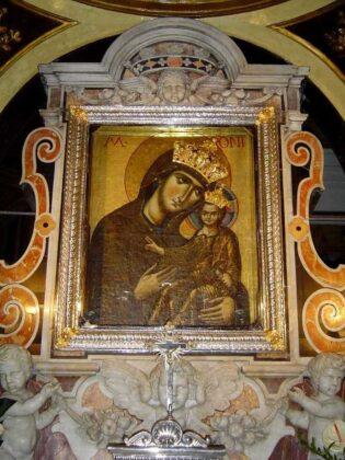 13 Icona Della Madonna Interno Basilica Di Materdomini Nocera Superiore