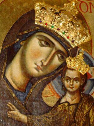 14 Icona Della Madonna Particolare Basilica Di Materdomini Nocera Superiore