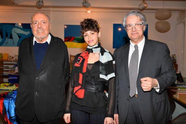 Elio Fiorucci, Lidia Bosch, Davide Rampello