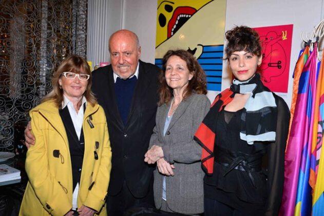 Elio Fiorucci, Milly Moratti, Lidia Bosch