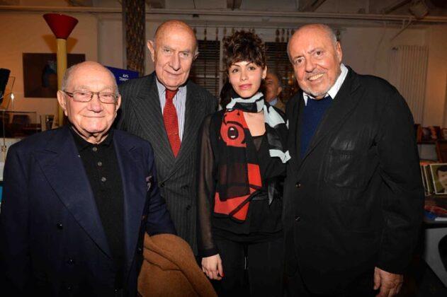 Piero Pinto; Beppe Modenese, Lidia Bosch, Elio Fiorucci