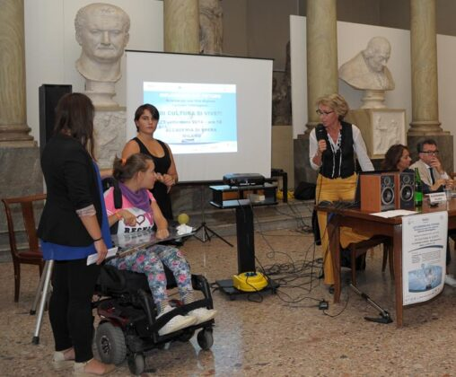 Alessandra Filippi Risponde Alla Domanda Di Marica Studentessa Disabile Del Liceo Gaetana Agnesi Di Milano