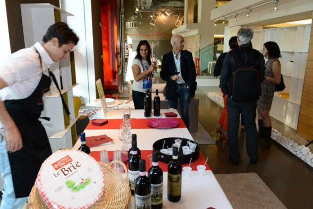 Brera Expo Wine Tour 2014 38 Calligaris Flagship Store B