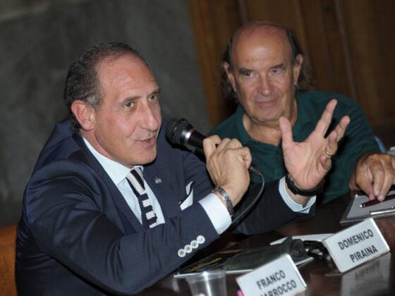 Dott. Domenico Piraina E Prof. Stefano Zecchi