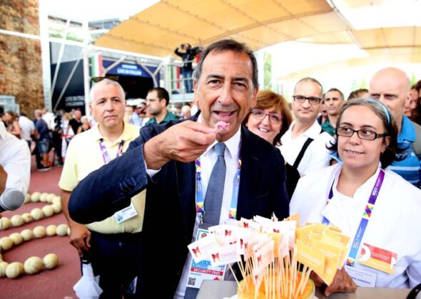 Expo Festa Del Gelato Giuseppe Sala 3