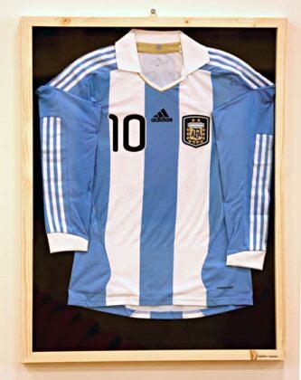 Expo Mostra Calcio 2015 Messi Argentina