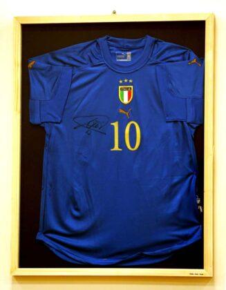 Expo Mostra Calcio 2015 Totti Italia