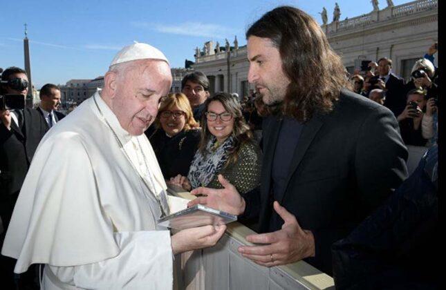Il Maestro Compositore Gabriele Ciampi Incontra Il Papa In Vaticano Ph Losservatore Romano