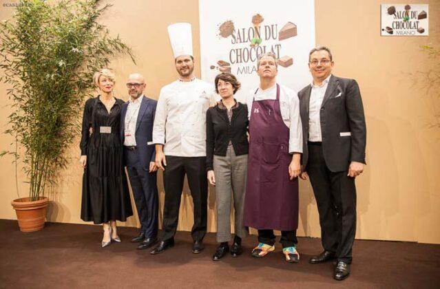 Irene Colombo, Pietro Cerretani, Davide Comaschi, Ass. Tajani, Ernst Knam, Roberto Silva
