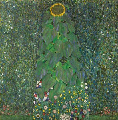 Die Sonnenblume 1907 Öl Auf Leinwand 110 X 110 Cm Privatbesitz