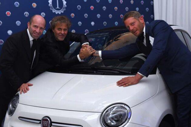 Luca Napolitano;renzo Rosso;lapo Elkann